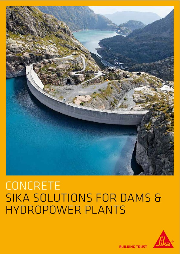Sika Solutions for Dams & Hydropower Plants
