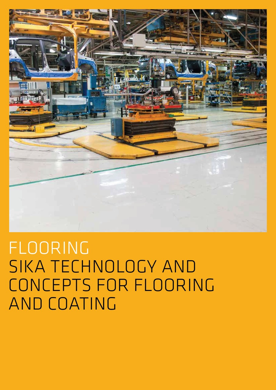 Sika Technology and Concepts for Flooring and Coating