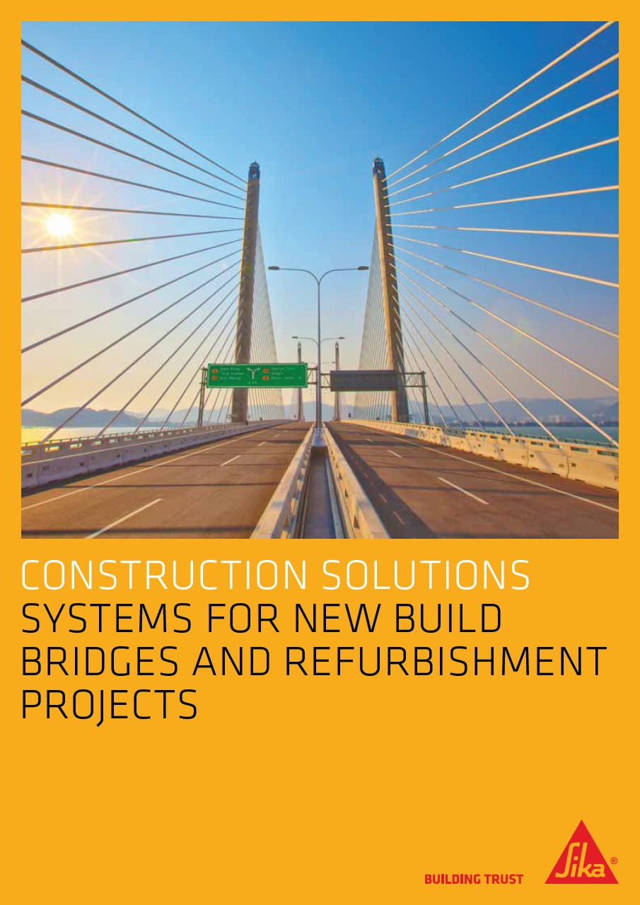 Sika Solutions for Bridges
