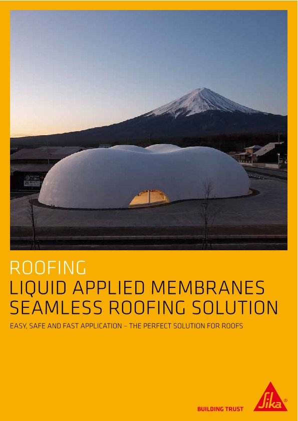 Liquid Applied Membranes - Seamless Roofing Solution