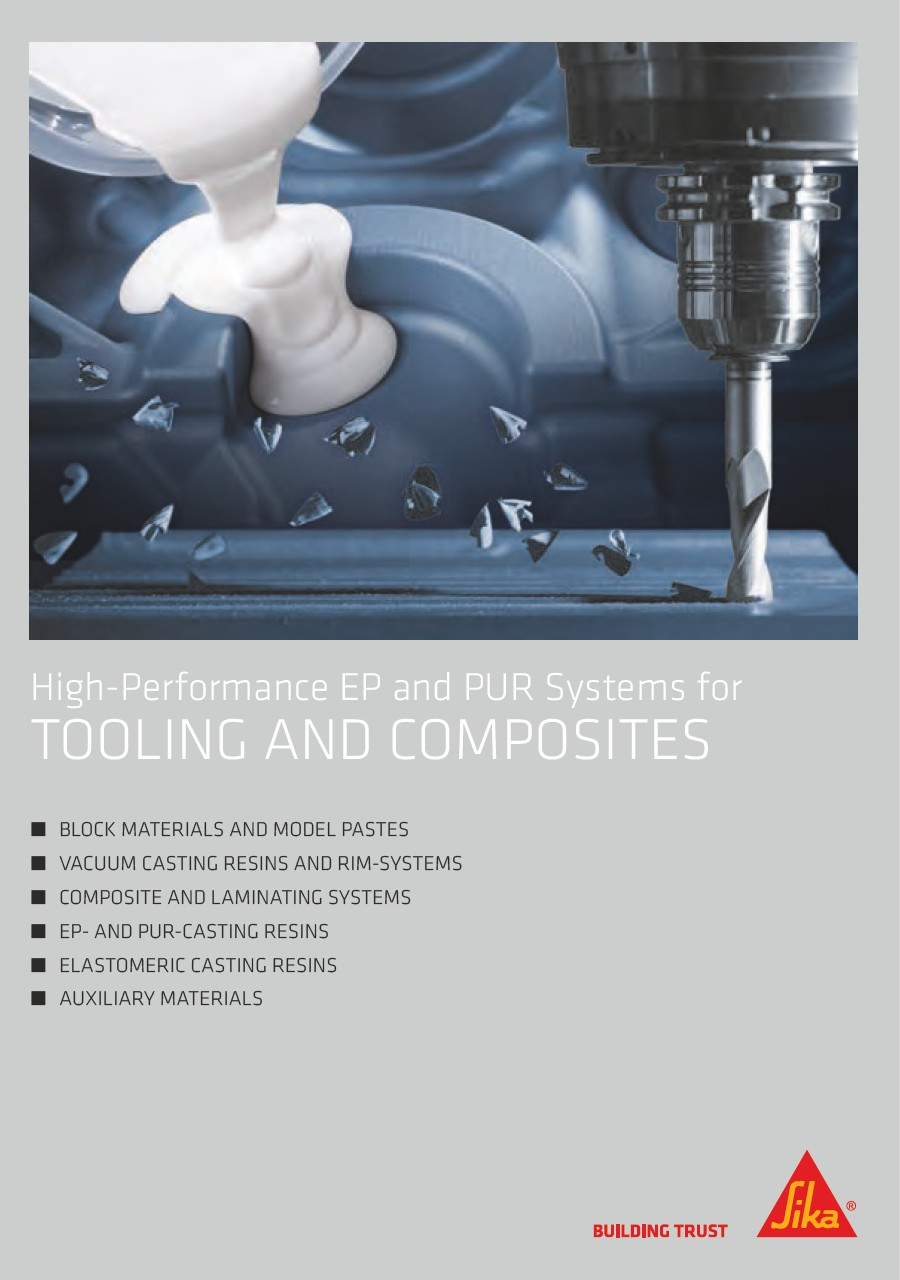 High Performance EP and PUR Systems for Tooling and Composites